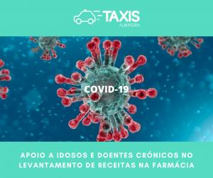 Taxis Albufeira apoia idosos e doentes crónicos no levantamento de receitas na farmácia